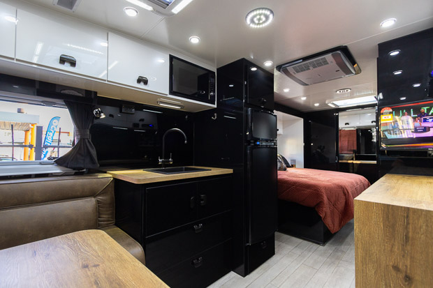 View to the Kitchen in the Van Royce