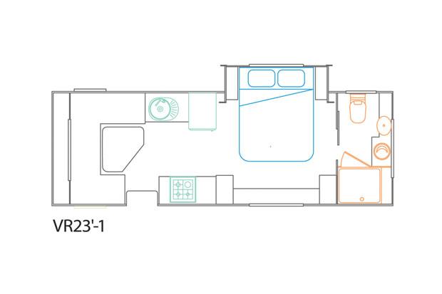 Van Royce 23-1 Floor Plan