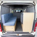 Toyota Hiace Pop Top Camper - View to front