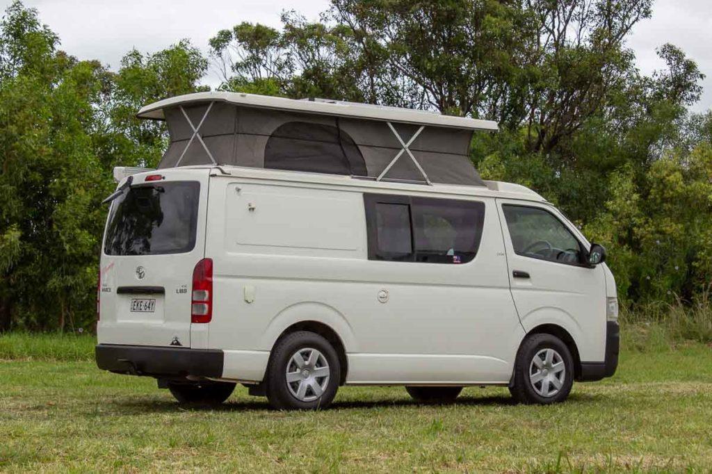 Toyota Hiace Pop Top Campervan