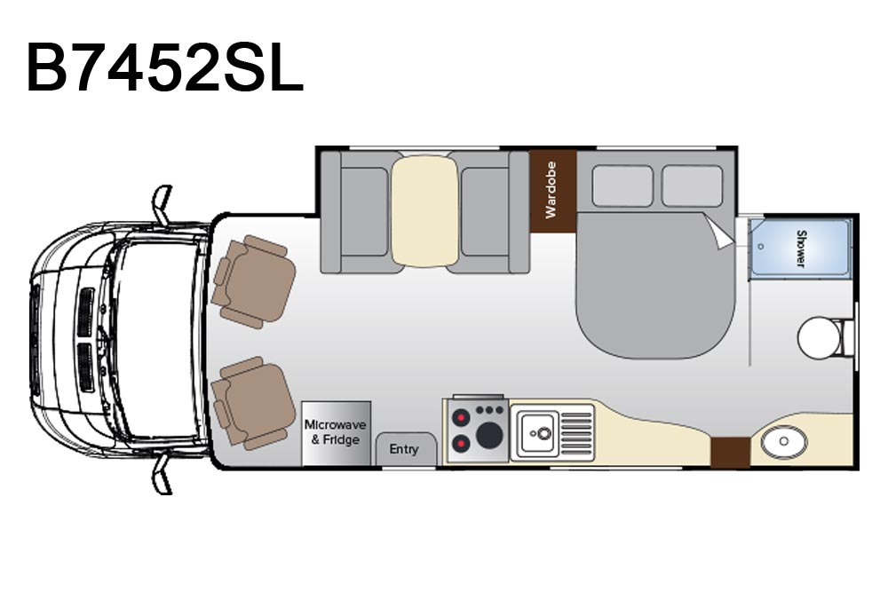 B7452SL Birdsville Floorplan