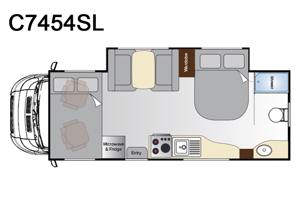 C7454SL Birdsville Floorplan