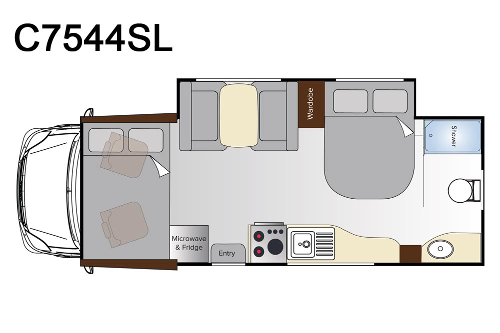 Avida C7544SL Busselton Motorhome