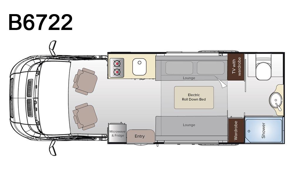 Avida B6722 Leura Motorhome