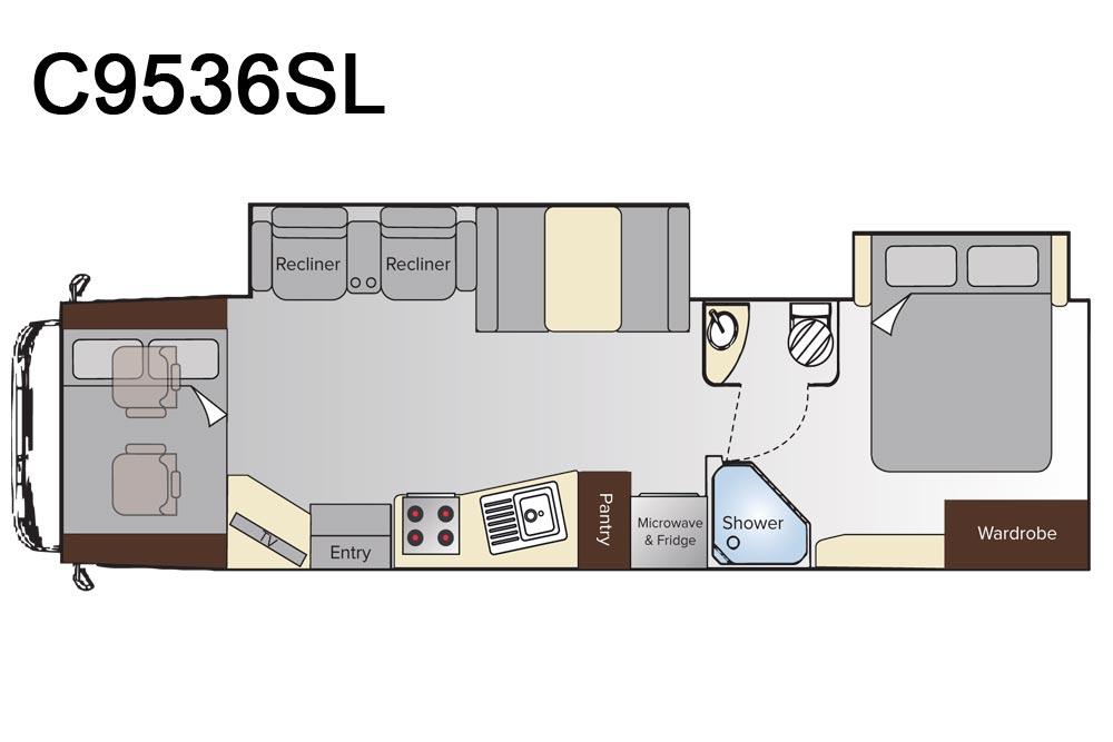Avida C9536SL Longreach Motorhome