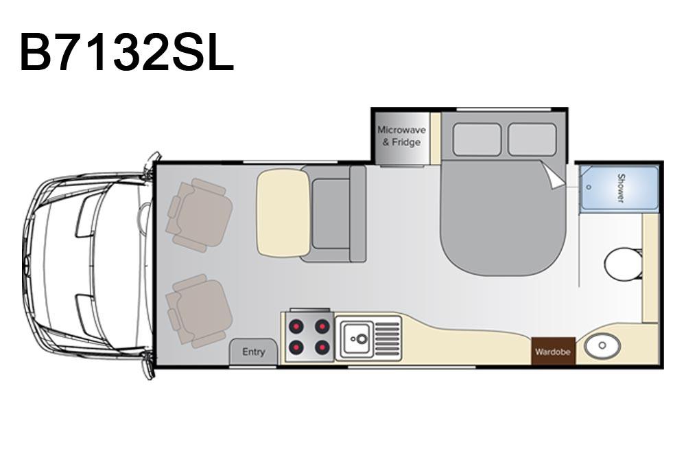 Avida B7132SL Silverton Motorhome