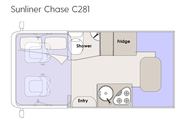 Sunliner Chase Floorplan