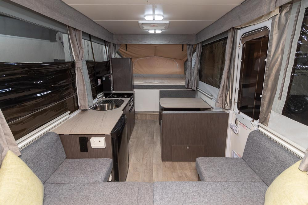 Jayco Eagle Camper Trailer - View to the Rear