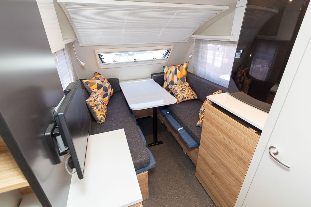 Adria Action 361 LT - View to Front