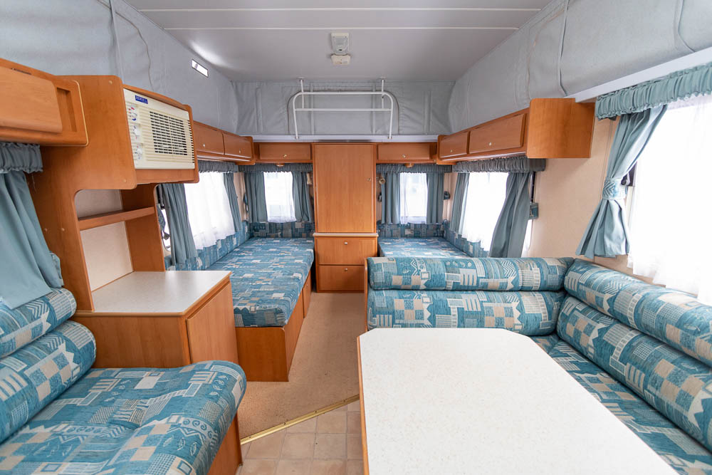 View to Rear in the Jayco Freedom