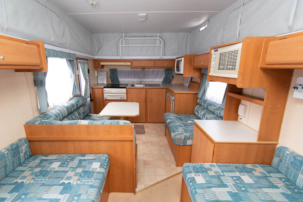 View to Front in the Jayco Freedom